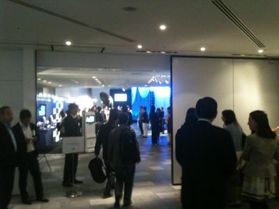 第4回東京コスメティック・コレクションの受付風景